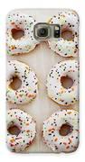 Doughnut Art Galaxy S6 Case by Kim Fearheiley