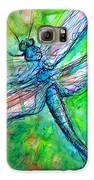 Dragonfly Spring Galaxy S6 Case by M C Sturman