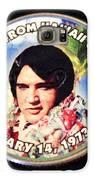 Elvis In Hawaii Galaxy S6 Case by Michael Sokalski