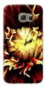 Fire Bloom Galaxy S6 Case by Natalya Karavay