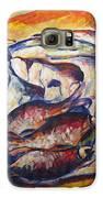 Fish And Wine Galaxy S6 Case by Vladimir Kezerashvili