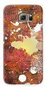 Floral Print Galaxy S6 Case by Ankeeta Bansal