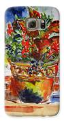 Flower Pot Galaxy S6 Case by Vladimir Kezerashvili