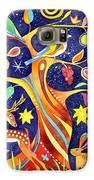 Folk Tree Galaxy S6 Case by Jane Tomlinson