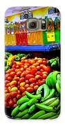 Food Market Galaxy S6 Case by Denisse Del Mar Guevara