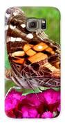 Fritillary Butterfly  Galaxy S6 Case by Kim Galluzzo Wozniak