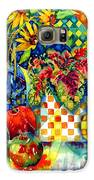 Fruit And Coleus Galaxy S6 Case by Ann  Nicholson