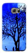Full Moon In Africa Galaxy S6 Case by Pilar  Martinez-Byrne