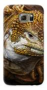 Galapagos Land Iguana  Galaxy S6 Case by Allen Sheffield