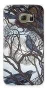 Gathering A Murder Of Crows I Galaxy S6 Case by Helen Klebesadel