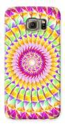 Geo Master Eleven Kaleidoscope Galaxy S6 Case by Derek Gedney