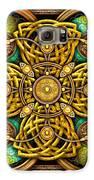 Gold Celtic Cross Galaxy S6 Case by Richard Barnes