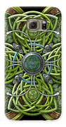 Green And Silver Celtic Cross Galaxy S6 Case
