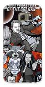 Guardians Of The Galaxy Collage Galaxy S6 Case by Gary Niles