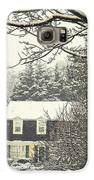 House In Snow Galaxy S6 Case by Joyce Kimble Smith