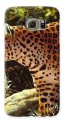 Leopard Painting - On The Prowl Galaxy S6 Case by Crista Forest