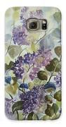 Lilacs Galaxy S6 Case by Paula Marsh