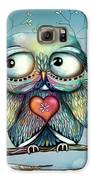 Little Wood Owl Galaxy S6 Case by Karin Taylor