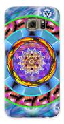 Mandala Wormhole 101 Galaxy S6 Case by Derek Gedney