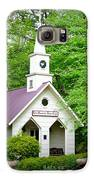 Mountain Chapel Galaxy S6 Case by Crystal Joy Photography