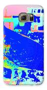 my bonnie lies over the ocean but I am here  Galaxy S6 Case by Hilde Widerberg