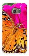 Orange Beauty Galaxy S6 Case
