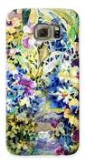 Pansy Path Galaxy S6 Case by Ann  Nicholson
