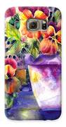 Patio Pansies Galaxy S6 Case