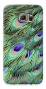 Peacock Feathers Galaxy S6 Case by T C Brown