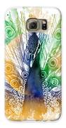 Peacock Splash Galaxy S6 Case by Diana Shively
