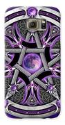 Pentacle Of The Purple Moon Galaxy S6 Case by Richard Barnes
