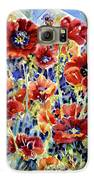 Picket Fence Poppies Galaxy S6 Case