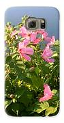 Pink Flowers By The Lake Galaxy S6 Case