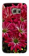 Pink Flowers Galaxy S6 Case