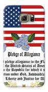 Pledge Of Allegiance Galaxy S6 Case