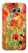 Poppies In The Sun Galaxy S6 Case by Barbara Pirkle