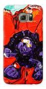 Poppy 4 Galaxy S6 Case by Vickie Warner