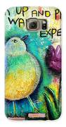 Praying And Waiting Bird Galaxy S6 Case by Lauretta Curtis