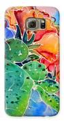 Prickly Pear Galaxy S6 Case by M C Sturman