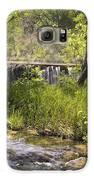 Pristine Forest Stream Galaxy S6 Case by Cindy Rubin