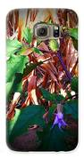 Purple Thorned Blooms In The Cornfield Galaxy S6 Case