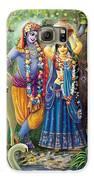 Radha-krishna Radhakunda Galaxy S6 Case by Lila Shravani