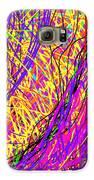 Rainbow Divine Fire Light Galaxy S6 Case by Daina White