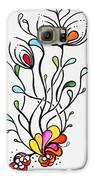 Sea Flowers Galaxy S6 Case by Carolyn Weir