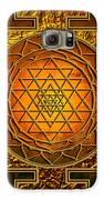 Shri Yantra Gold Lakshmi Galaxy S6 Case by Lila Shravani