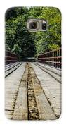 Sitting On A Bridge Galaxy S6 Case by Jason Brow