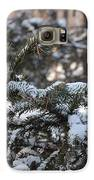 Snow Covered Branches Galaxy S6 Case by Brett Geyer
