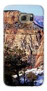 Snowy Grand Canyon Vista Galaxy S6 Case