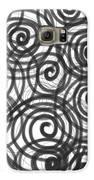 Spirals Of Love Galaxy S6 Case by Daina White