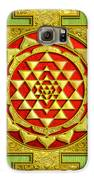 Sri Gold Yantra Galaxy S6 Case by Lila Shravani